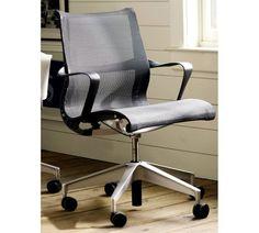 Herman Miller® Setu® Chair - Graphite | Pottery Barn