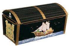 Large Pirate Toy Treasure Chest