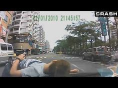 ▶ Russian dash cam insurance scam, Incredible compilation - YouTube