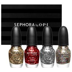 OPI Glitter and Sparkle set