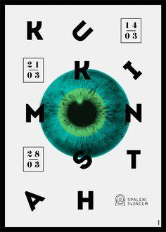 New Posters by Krzysztof Iwanski | Design Inspiration