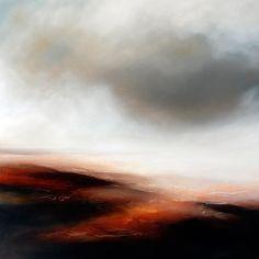 Paul Bennett - Seascape / Landscape 2011, The Journey 3 - Oil on Canvas - 100cm X 100cm