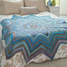 Free Mosaic Afghan Crochet Pattern Oh this is gorgeous!!!