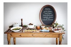 Sunday Suppers: ...and a plethora of food...