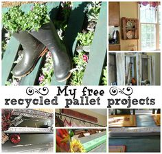 #free upcycle/recycle pallet projects