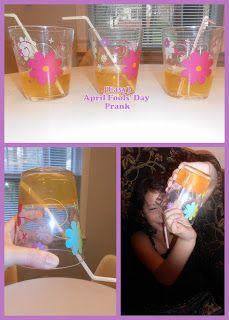 April Fools' Day - Fun jelled juice joke to play on kids!