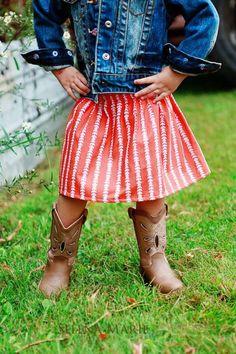 Toddler skirt ETSY