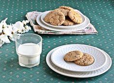 Vegan Almond Oat Cookies