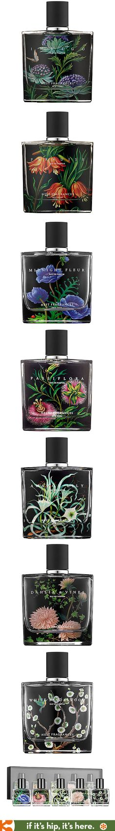 The NEST parfum collection for Sephora is some of the prettiest bottle designs I've ever seen.
