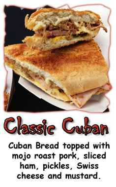Classic Cuban at Twisted Cuban Food Truck... this is a real Cuban Sandwich... NO mayonnaise, lettuce, or Salami!!!