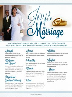 Discover 11 awesome joys of marriage!
