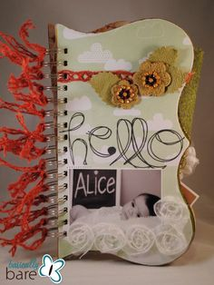 """Hello, Alice"" mini album by Basically Bare designer Beth Gaddis (Lots more pics on the blog post!)"