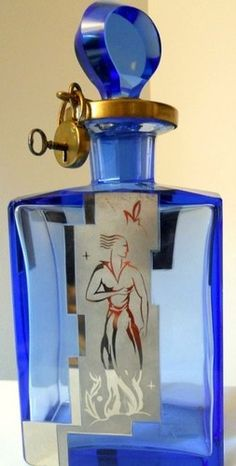 locked perfume bottle