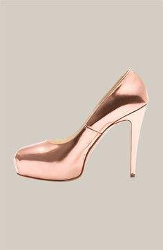 Rose Gold Pumps! by Brian Atwood