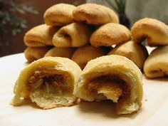 Spanish Bread - is soft and moist type of bread with sugar and margarine filling. The dough was flattened then fillings are then spread out and rolled.