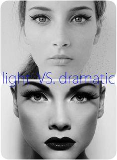 Light vs. Dramatic