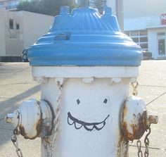 Funny fire hydrant by lloydi, via Flickr