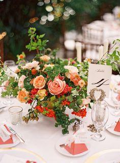 #centerpiece  Photography: Ciara Richardson - ciara-richardson.com/  Read More: http://www.stylemepretty.com/2014/01/30/salt-lake-city-greenhouse-wedding/