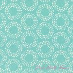 Eloise Renouf Shape Of Spring Full Circle Robin's Egg ORGANIC [C9F-ShapeSpring-FullCircle-Robin] - $11.21 : Pink Chalk Fabrics is your online source for modern quilting cottons and sewing patterns., Cloth, Pattern + Tool for Modern Sewists