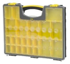 Good organizer for Legos, beads, Barbie shoes and accessories??? *** 25-Removable Compartment Professional Organizer