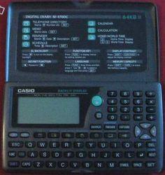 Casio Pocket Calculator/Organizer