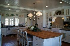 Sea Island kitchen