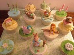 Beatrix Potter Cupcakes by Suzanne Wood, via Flickr
