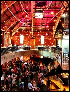A beautiful wedding at the Armory. Photo by @allwrightmusic.