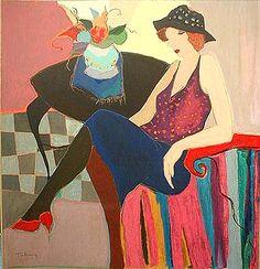 itzchak tarkay painting