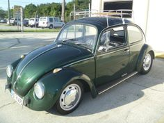 VW Beetle. Cool stance, close to our color.