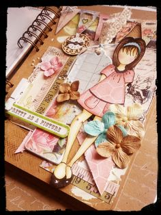 prima mixed media dolls | ... Prima doll stamp playing, this is her finished in my mixed media