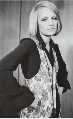 Barbara Hulanicki - fashion designer, founder of BIBA, pioneer indie businesswoman, interior designer: her design aesthetic and unique approach to retailing had such a massive influence on popular culture throughout the 60s and 70s that it is still in evidence today.