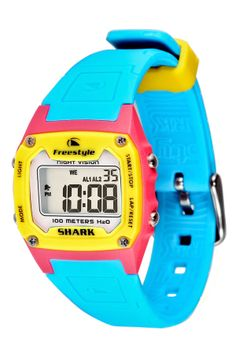 Neon fun! Can't get enough of this bright watch.