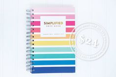 The Simplified Date Book™ $24 by Emily Ley. A purse sized date book for women making what matters happen. (Image by Shay Cochrane - www.ShayCochrane.com)