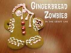 http://librarymakers.blogspot.com/2012/12/craft-lab-gingerbread-zombies.html