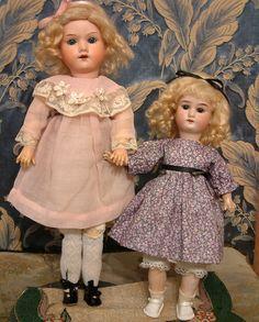 The Cutest 11 Armand Marseille 15 390 Antiq German Bisque Head Dolls Super | eBay