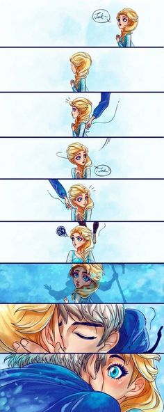 Jack x Elsa. Yes. I ship this. And I am very proud of it.