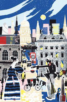 Small Kindnesses by Esther Cox. Shortlisted entry for the Association of Illustrators Serco Prize 2014. illustr 2014, sceneri illustr