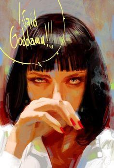 Uma Thurman.  Pulp Fiction (1994)