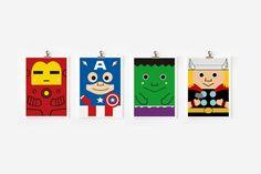 Avengers Art from Etsy