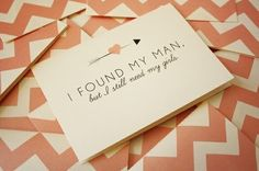 Cute way to ask bridesmaids to be in the wedding!