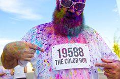 the colour run.