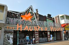 Trimper's Haunted House <3 Ocean City Maryland <3 Boardwalk