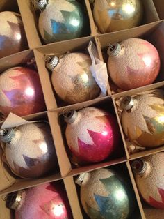 Tip: Browse Etsy for vintage ornaments. So many gorgeous ones and they make trees look really special.