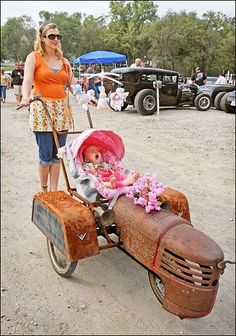 Rat Baby Carriage