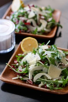 Shaved Fennel and Arugula Salad from aggieskitchen.com