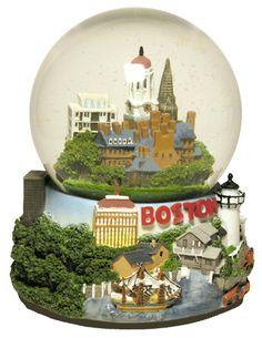 Boston Snow Globe