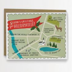 Funny holiday cards: