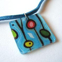 shrink art pendant
