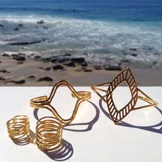 Gorjana takes over #Shopbop's Instagram #beach #jewelry